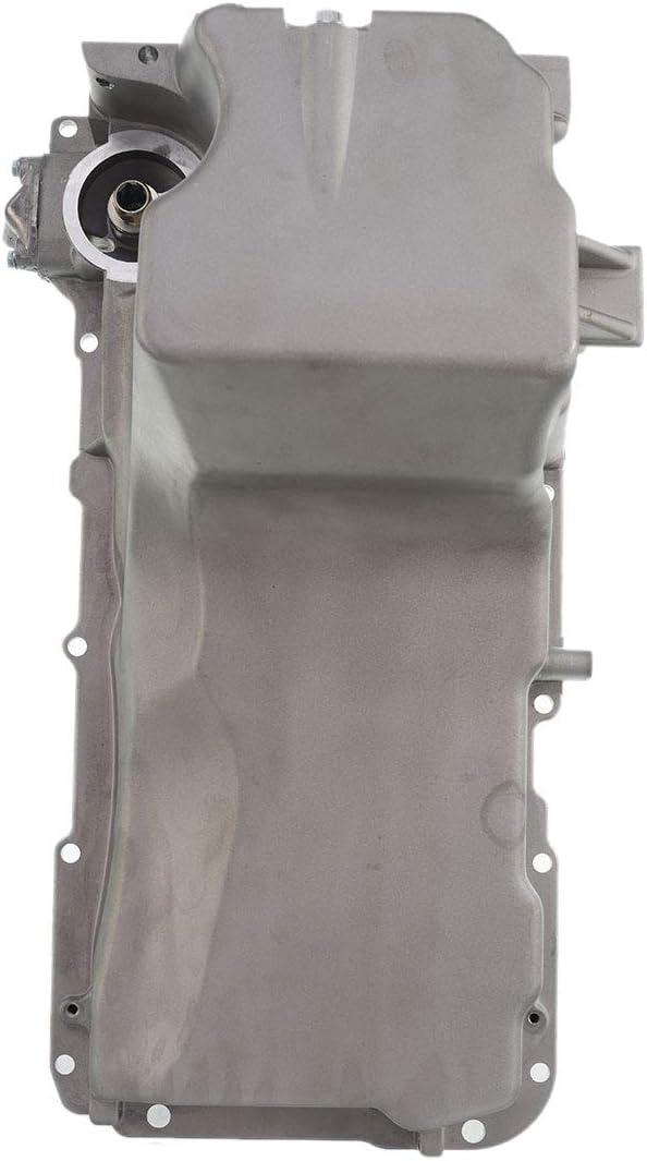 Engine Oil Pan Compatible with Chevrolet Silverado Suburban Express Tahoe GMC Sierra Yukon Cadillac