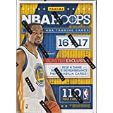 2016 2017 Hoops NBA Basketball Box with One GUARANTEED AUTOGRAPH or MEMORABILIA Card Per Unopened Blaster Box of Packs Possible Rookies and Stars