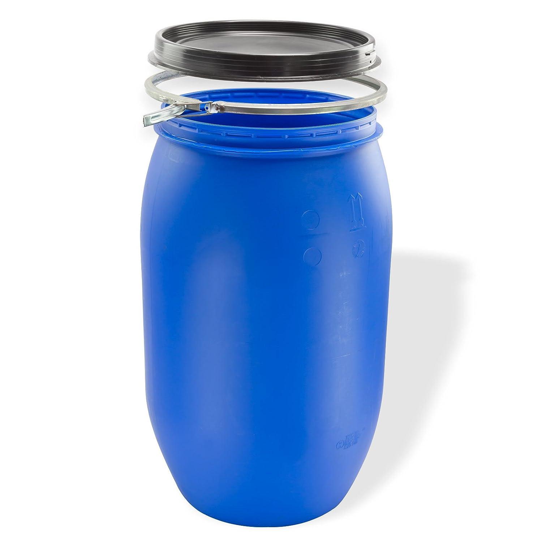 DEMA Maischefass 220 l, Weithalsfass, blau