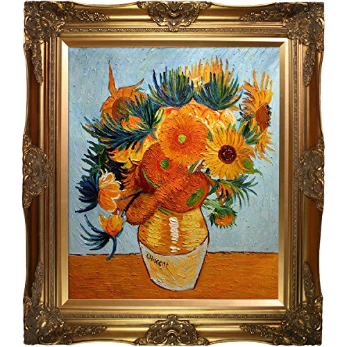 Sunflower Collage Framed Hand Painted Original Artwork with