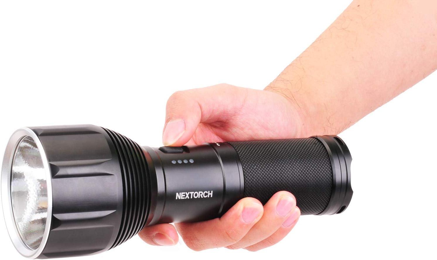 Negro 212 x 50 x 83 mm NEXTORCH Saint Torch 11 Linterna