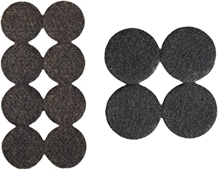 Antidérapant-Pad ronds 24,00 mm filzgleiter auto-adhésif,