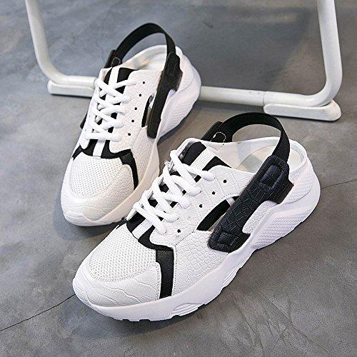 respirent 01 Couleur sandales Les choisir couleurs EU39 taille deux UK6 de femmes de à NAN CN39 sports creuses d'été des respirables EaWSqqF