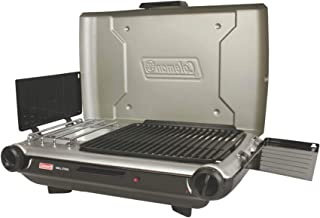 product image for Coleman 2 Burner Grill Stove Combo Silver/Black 2000020925