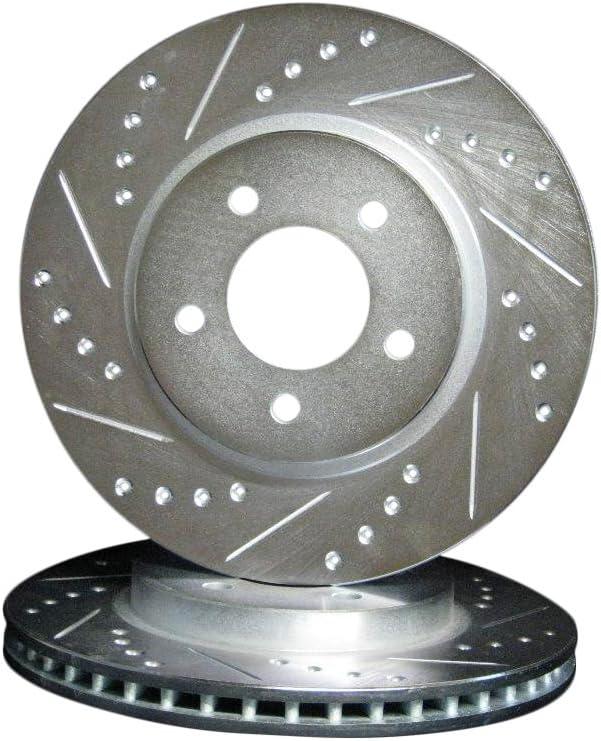 Front Brake Rotors Semi-Metallic Pad 2006 2007 2008 2009 2010 2011 2012 MAZDA 5