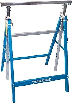 Silverline 226168 - Caballete resistente (150 kg): Amazon.es: Bricolaje y herramientas