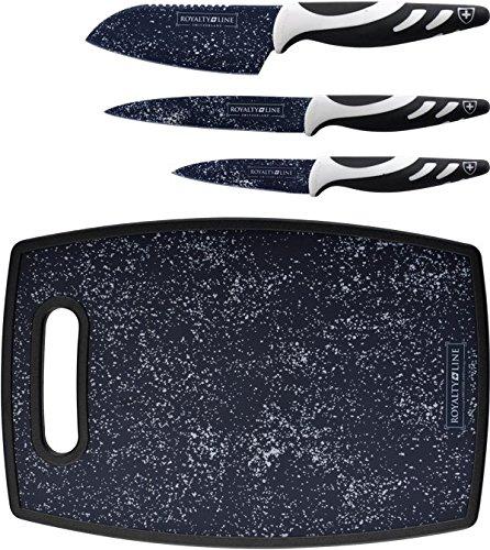 Compra Royalty Line RL-3M Juego de cuchillos con tabla de ...