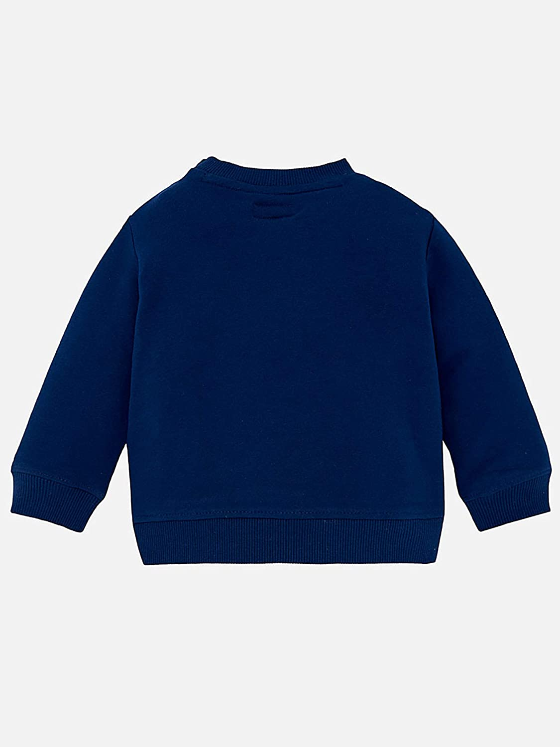 Mayoral myrl Patch Pullover for Baby-Boys Steel Blue 1425