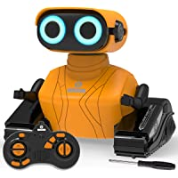 KaeKid Robot Toys for Kids, Remote Control Robot Toys with LED Eyes & Flexible Arms, Dance & Sounds, RC Toys for 3-8…