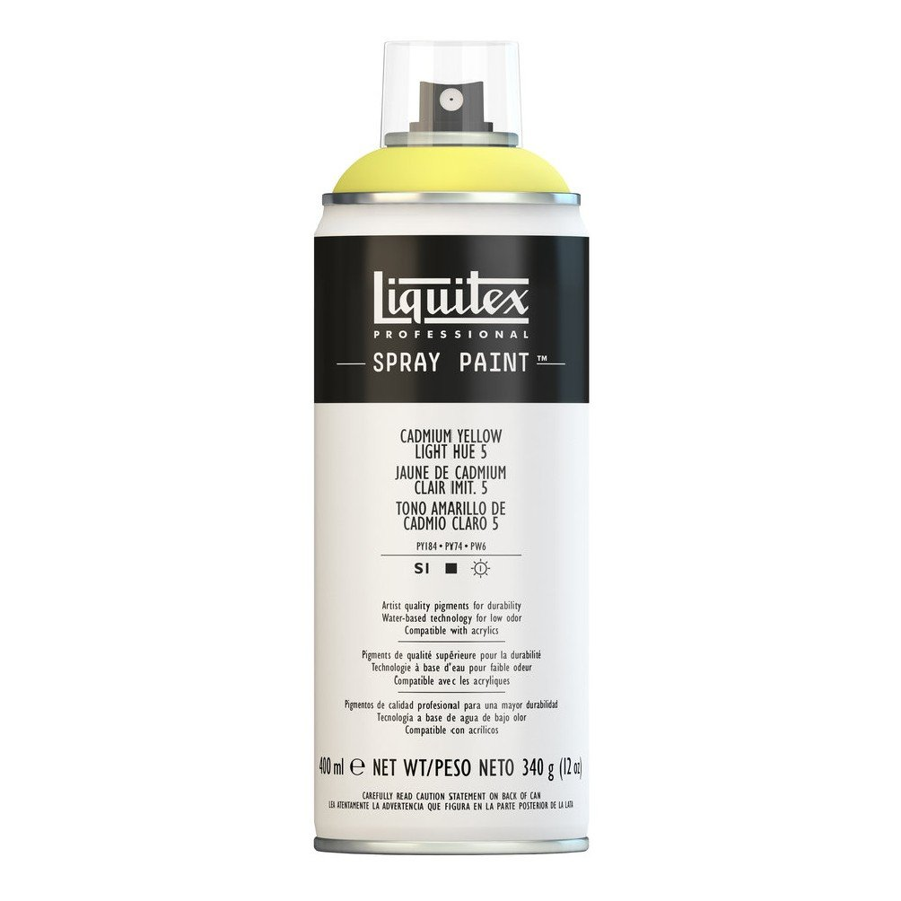Liquitex プロフェッショナル スプレーペイント 12オンス 400ml Can イエロー 4455159 B008N7H6Y0 Cadmium Yellow Light Hue 5 Cadmium Yellow Light Hue 5