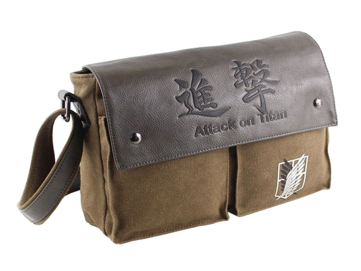 CoolChange scouting legion bag from the Attack on Titan series with logo