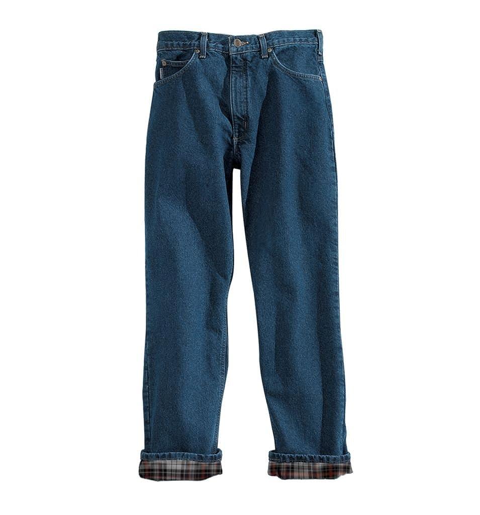 Carhartt Men's Relaxed Fit Straight Leg Flannel Lined Carhartt Sportswear - Mens B172