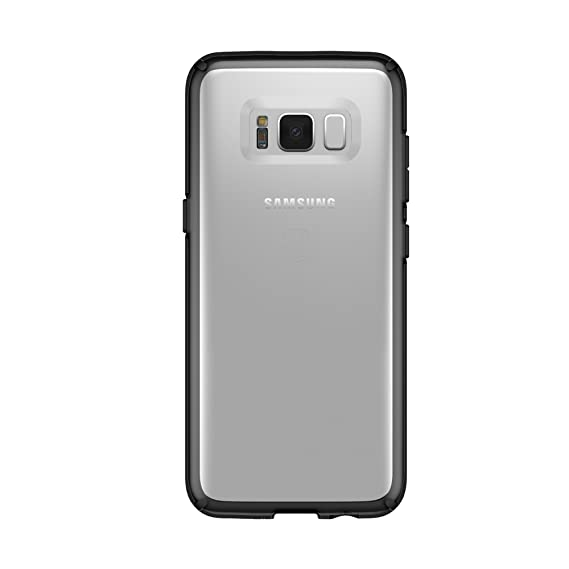 quality design b9603 fb443 Speck Products GemShell Cell Phone Case for Samsung Galaxy S8 - Clear/Black