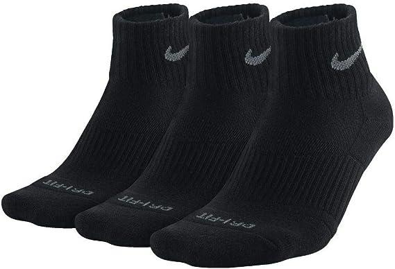 Nike Mens Dri-FIT 3PK Ankle Socks: NIKE