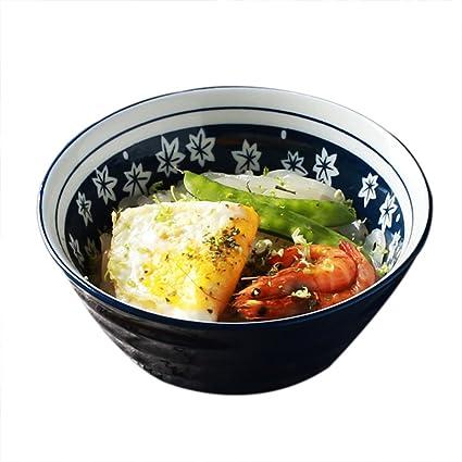 Cuencos de pasta Tazón de cocina nórdico utensilios de cocina tazón de estilo japonés tazón de