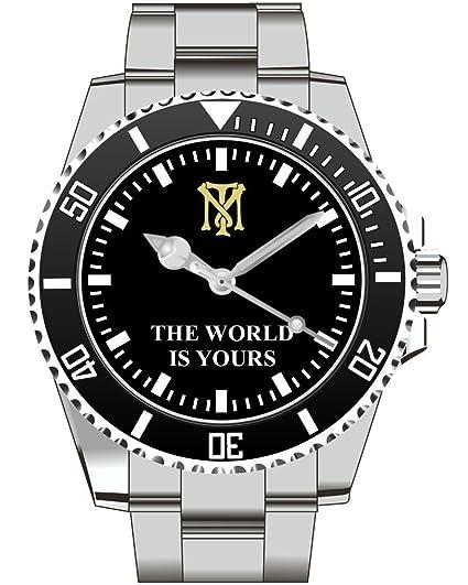 Tony Montana Scarface Pacino - Hombre Reloj de pulsera 2323: Amazon.es: Relojes