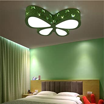 BRIGHTLLT Schmetterling Kinderzimmer lampe led Deckenleuchte cartoon ...