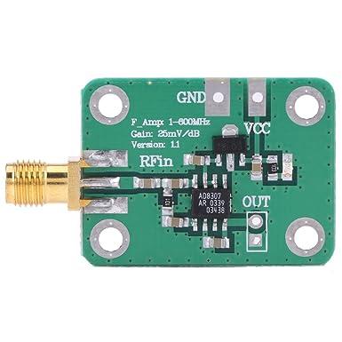1 600mhz Hf Signal Leistungs Messer Logarithmischer Detektor 74dbm Bis 18dbm Radio Frequenz Erkennung Gewerbe Industrie Wissenschaft