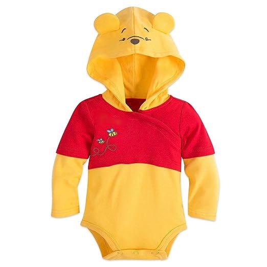 c72f43b32c4 Amazon.com  Disney Store Winnie The Pooh Halloween Costume Bodysuit Hat  Size 12-18 Months  Clothing