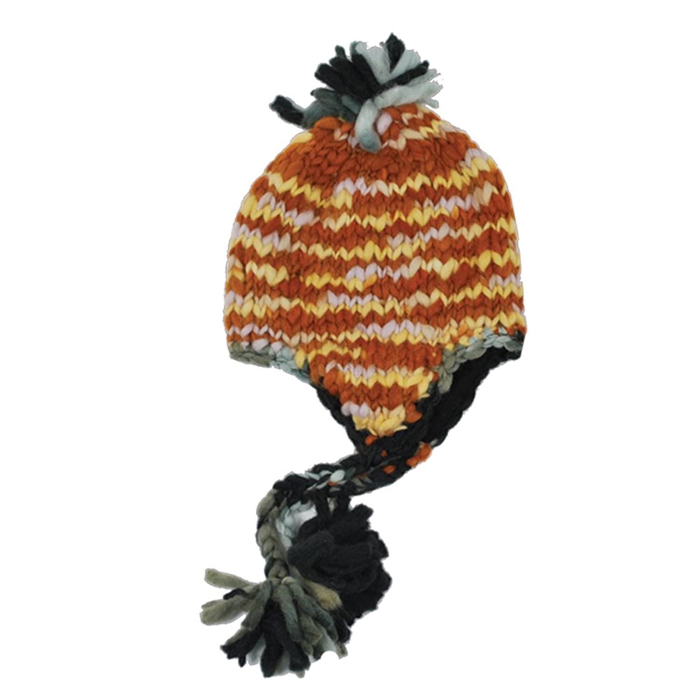 Hand knit Soft Chunky Winter Snow Hat beanie