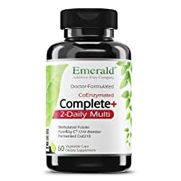 Complete 2-Daily Multi - Multivitamin with Coenzymes + Antioxidants + CoQ10 & Full...