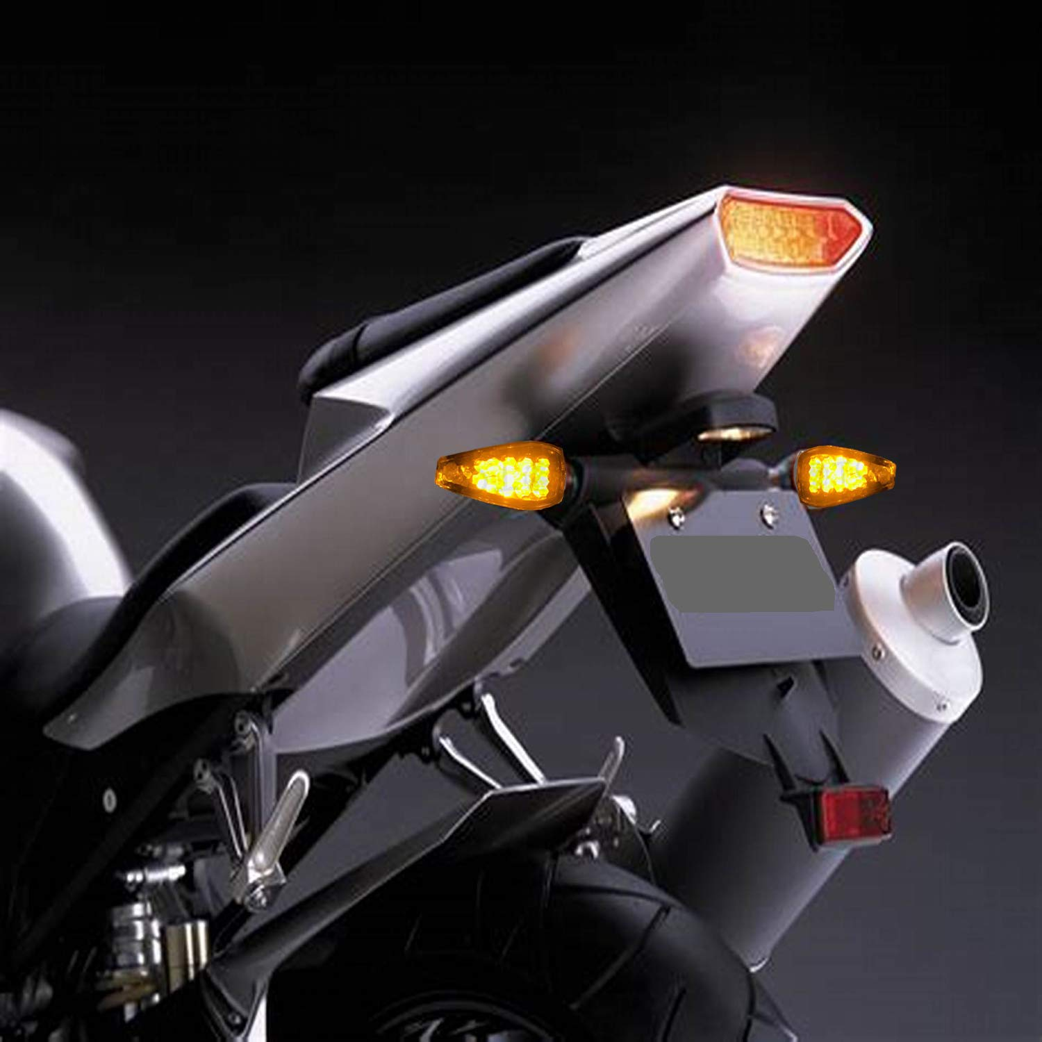 Black Cover CICMOD Motorcycle LED Turn Signals Indicators Blinkers Lights For HARLEY HONDA SUZUKI YAMAHA KAWASAKI