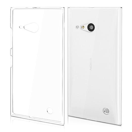 27 opinioni per kwmobile Cover per Nokia Lumia 730 / 735- Custodia in silicone TPU- Back case