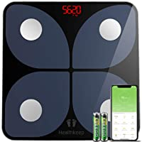 Body Fat Scale with iOS and Android App, Bluetooth Weight Digital Bathroom Scales...