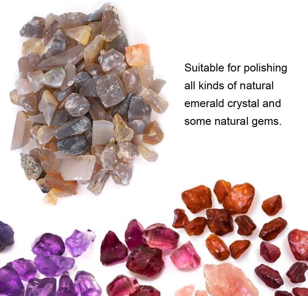 Natural Agate Gravel Burnisher Hand Craft Jewelry Making Tool Rosvola Polishing Grinding Material