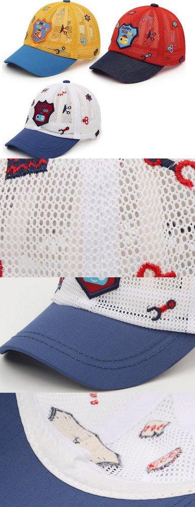 Gorra de béisbol del bebé, [rojo] casquillo del de bebé del del ...