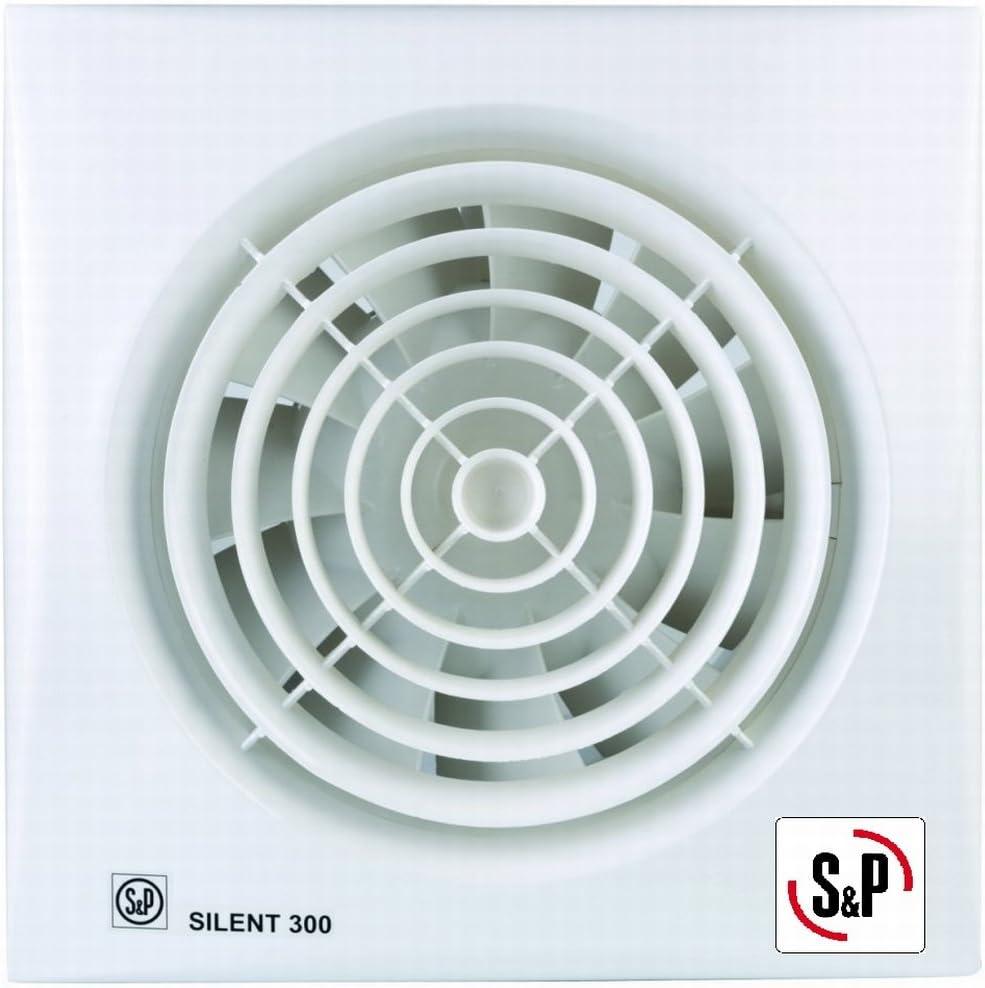 Extractor ba/ño S/&P Silent Dual 200 Inteleigente Soler/_Palau Extractores
