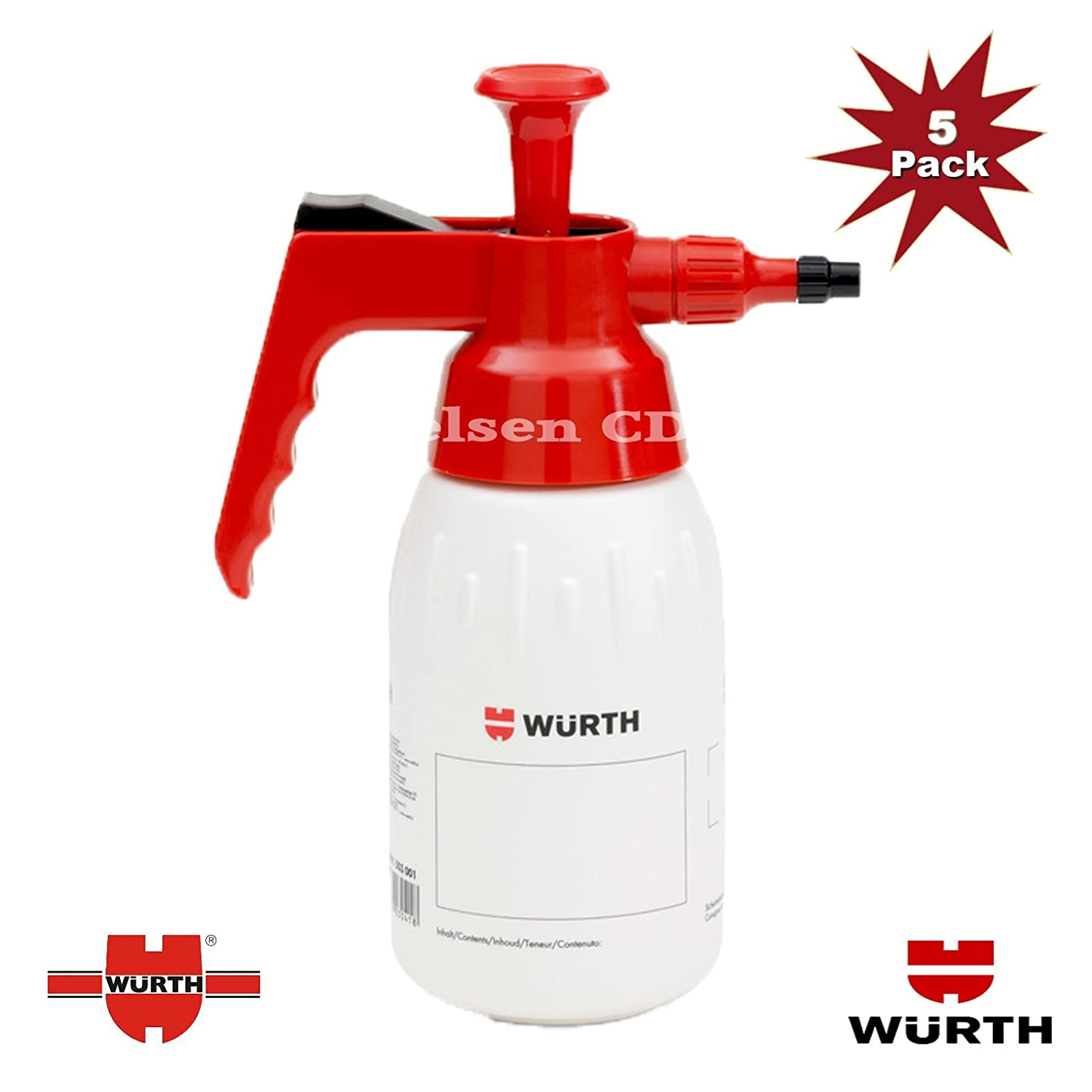 Wurth Pump Dispenser For Brake Cleaner 1000ml - 5pk