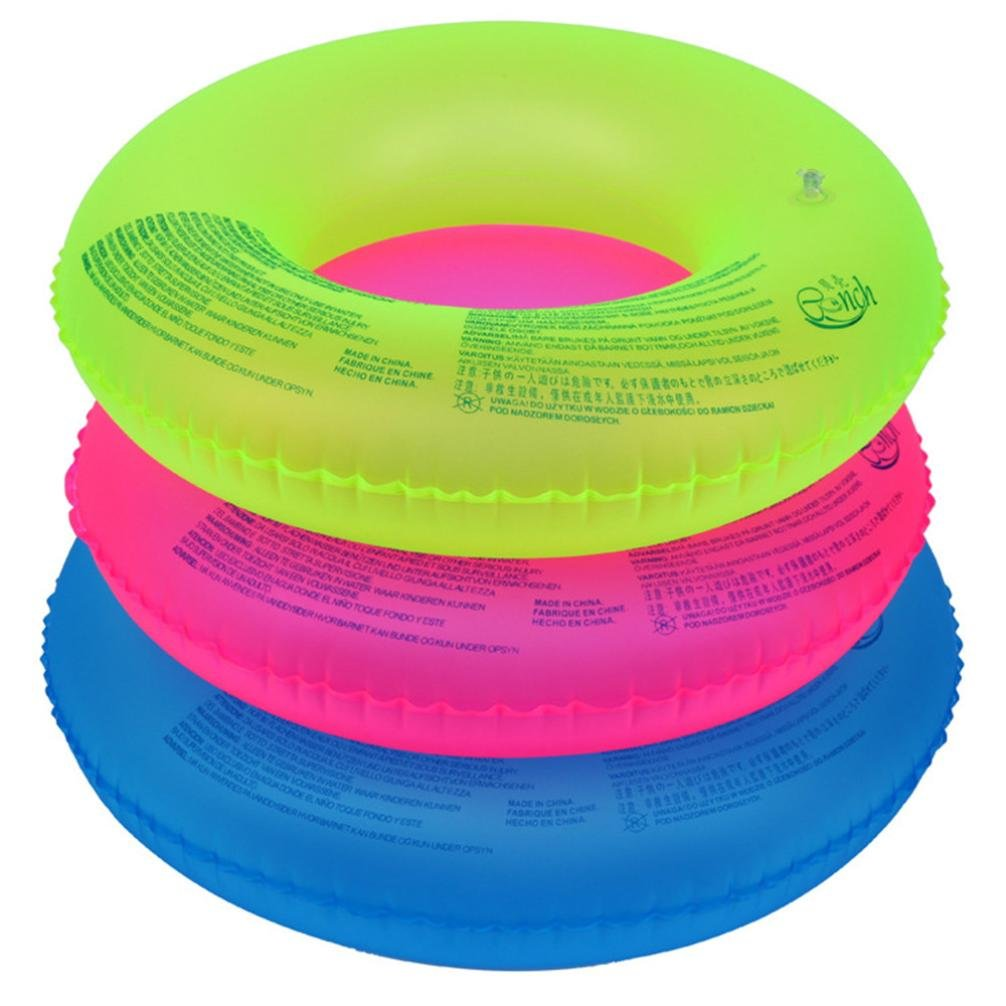 Adults Inflatable Swimming Swim Ring Pool River Lake Beach Raft Floating Tube Ring XHQ