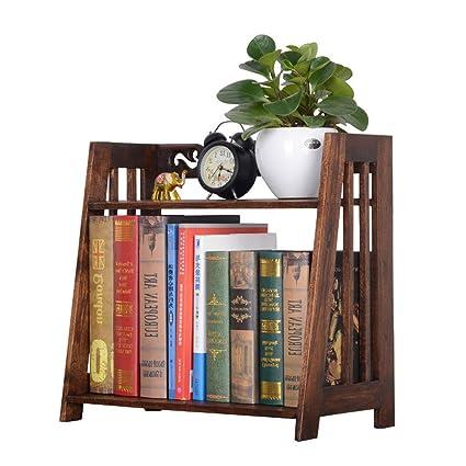 Mobiletti credenze Librerie Libreria in legno massello retrò in ...