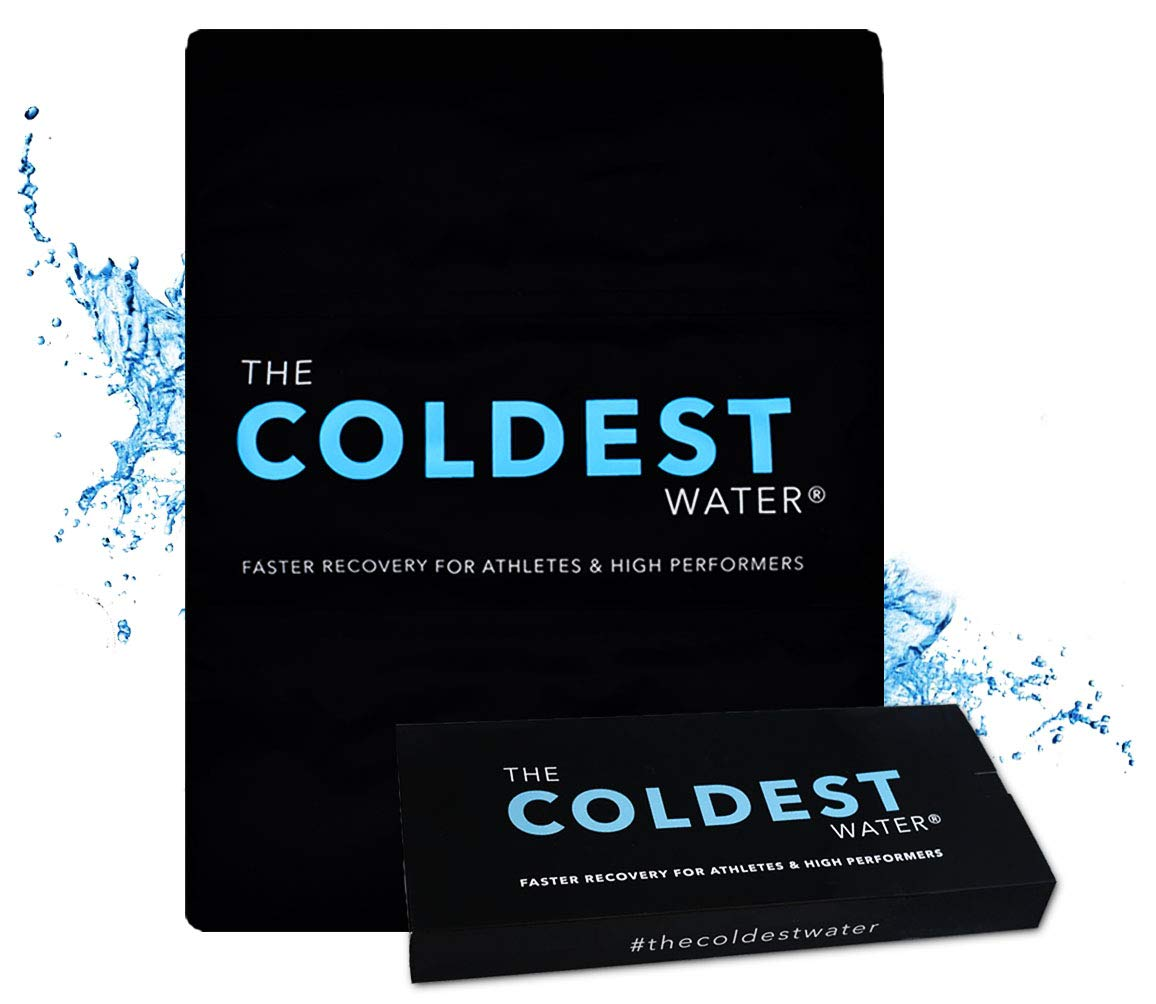 The Coldest Ice Pack Gel Reusable Flexible Therapy Best for Back Pain Leg Arm Knee Shoulder Sciatic Nerve Recovery Medical Grade X-Large Big Compress 15'' x 12'' by The Coldest Water by The Coldest Water