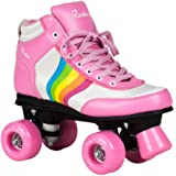 Rookie Forever Rainbow V2 Girls Ladies Pink Quad Roller Skates