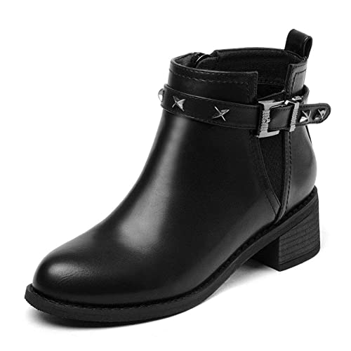 00d6cce2078 Women's Shoes HWF Women's PU Leather Shoes Martin Boots, Flat Winter ...