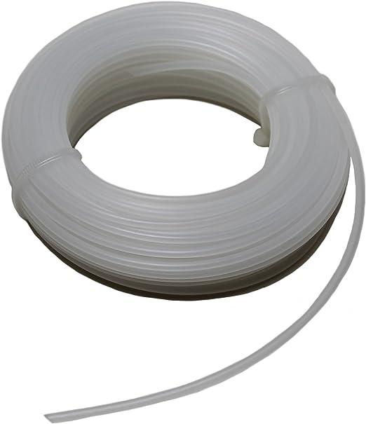 4x Faden Rasentrimmer 1,45mmx15m Nylonfaden Schneidfaden Mähfaden 0,18 EUR//m