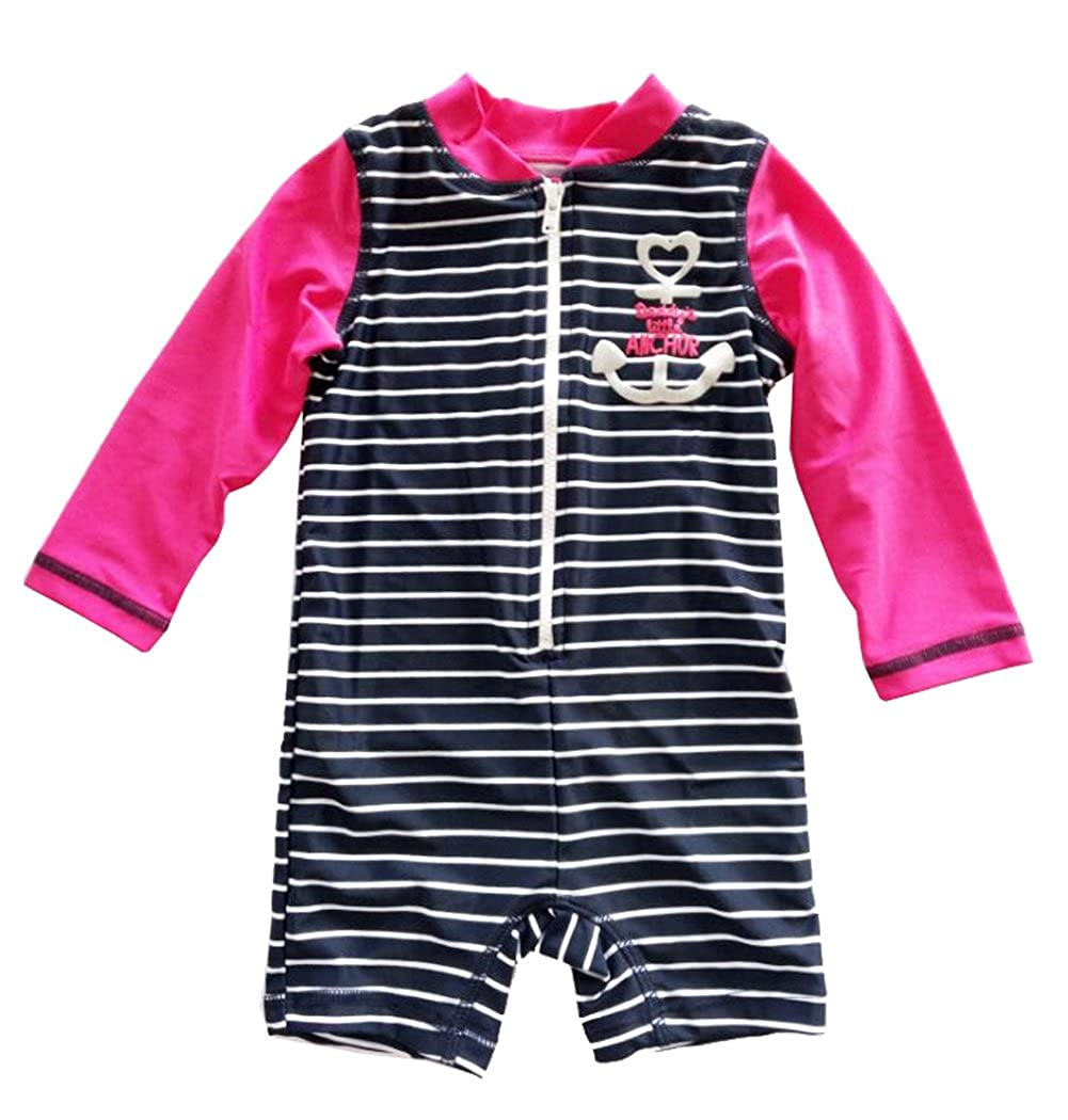 Infant Baby Girl Sunsuits Striped