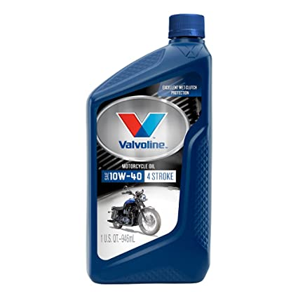Valvoline 10W-40 4 Stroke Motorcycle Oil - 1qt (Case of 6) (798151-6PK)