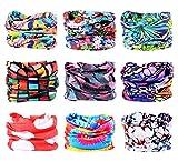 9PCS Outdoor Headscarves, Womens and Mens Headband Headwear (Dream Catcher)