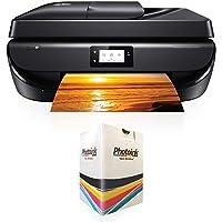 HP DeskJet Ink Advantage 5275 Faks + Fotokopi + Tarayıcı + Wi-Fi Airprint + Çift taraflı Yazıcı M2U76C ve Kolay Dolum Seti