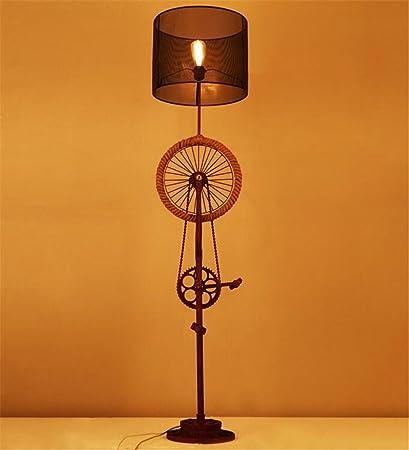 Lámparas de pie Lámpara de Piso de Lectura Antigua Lámpara ...