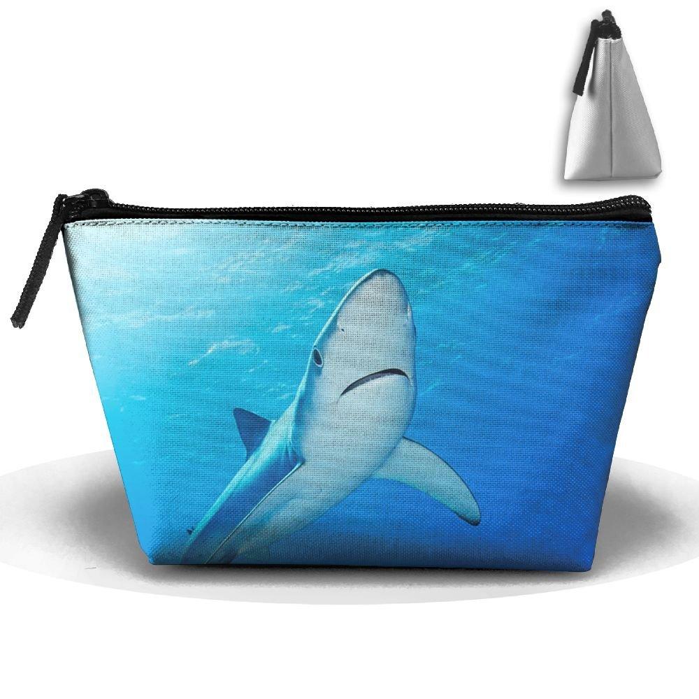 9c8af9c94993 Fengyaojianzhu Sea And Shark Portable Make-up Receive Bag Storage ...