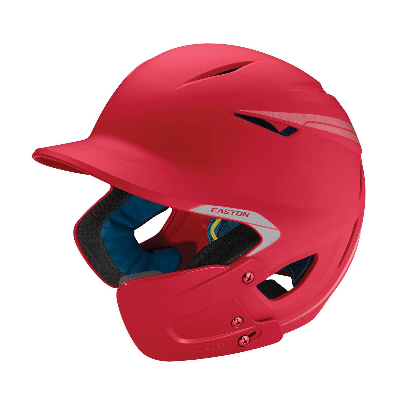 Easton Pro-X Matte Baseball Helmet with Jaw Guard, Senior, Red EABT9 - pallet ordering 8065470