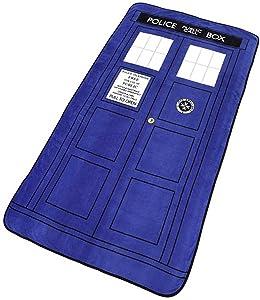 Underground Toys Doctor Dr Who Tardis Throw Blanket