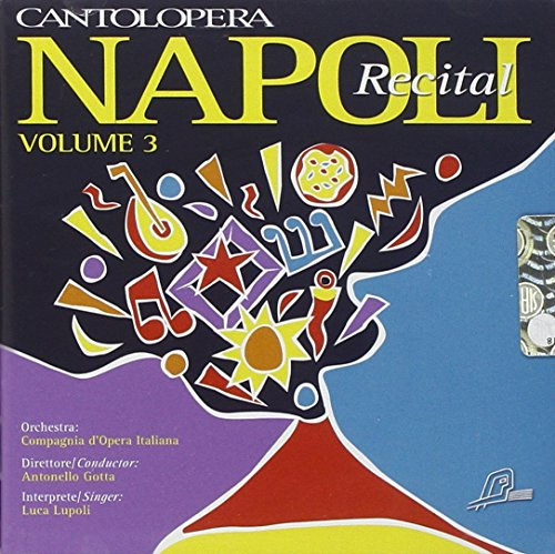 Music Minus One voice: Napoli Recital, vol. III (Opera Karaoke) ()