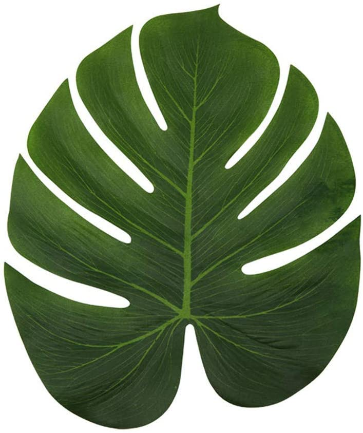 Amazon Com Ljdj Tropical Leaves Palm Set Of 36 Large 13 8 Inch Artificial Silk Fabric Monstera Decoration Leaf Hawaiian Luau Safari Jungle Beach Theme Party Supplies Table Decor Accessories Home Kitchen 2020 popular 1 trends in home & garden, home improvement with tropical leaf painting home and 1. ljdj tropical leaves palm set of 36 large 13 8 inch artificial silk fabric monstera decoration leaf hawaiian luau safari jungle beach theme