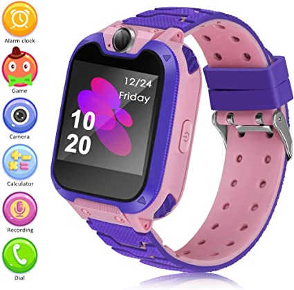 Smart Watch for Kids Watch Kids Watches Girls Boys Kids Phone Watch Kids Game Smart Watch Kids Digital Watch with 1.54 inch HD Color Touch Screen ...