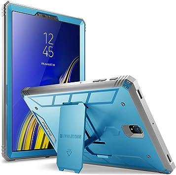 Poetic Funda Samsung Galaxy Tab S4 10.5, Estuche Protector Robusto Revolución con Fuerte Protección Híbrida para Trabajo Pesado y Protector de Pantalla Incorporado para Galaxy Tab S4 10.5, Bleu: Amazon.es: Electrónica